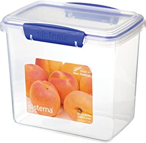 Sistema 1680 Klip It Collection Rectangle Food Storage Container, 64.2 Ounce
