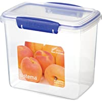 Sistema Klip It Klip It 1.9L Food Storage Container, Blue