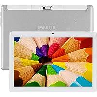 JANWIL Tablet Android 10.0 10 Zoll Quad-Core RAM 4 GB ROM 64 GB 8000 mAh Akku Kamera 5 MP 8 MP WLAN GPS Typ-C Dual-SIM…