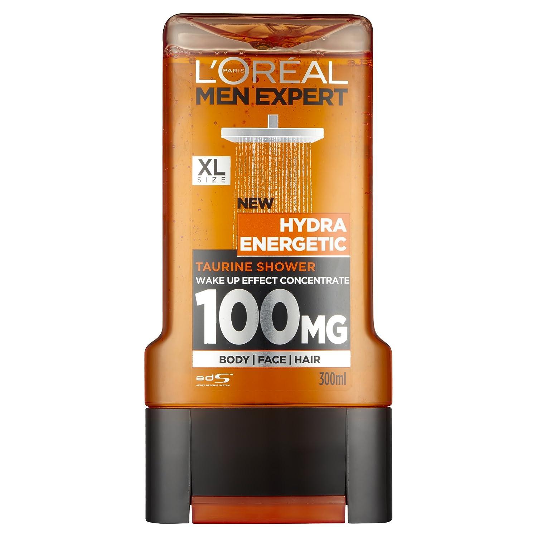 Loral Men Expert Hydra Energetic Shower Gel 300ml Dettol Body Wash Refill Cool 450 Ml Prime Pantry