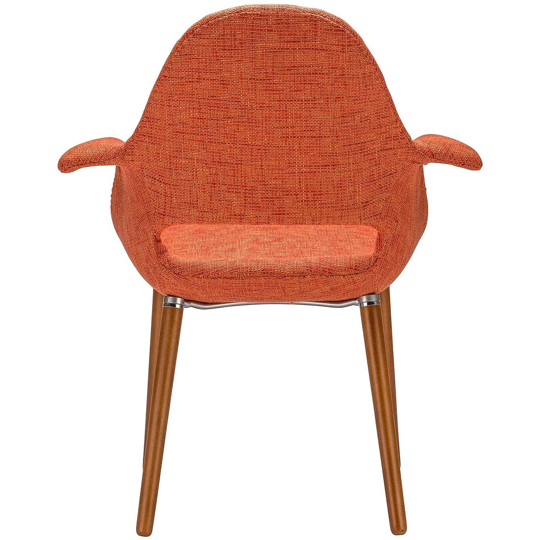 Amazon.com   Poly And Bark Organic Arm Chair, Orange, Set Of 2   Chairs