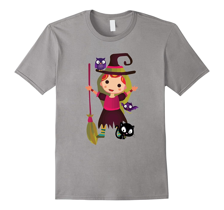 Cute Lil Girl Halloween TShirt in Kids Women And Men Sizes-T-Shirt