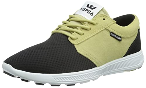 Supra Hammer Run - Zapatillas Unisex Adulto, Color Verde - Grün (Olive/Black - White olb), Talla 41