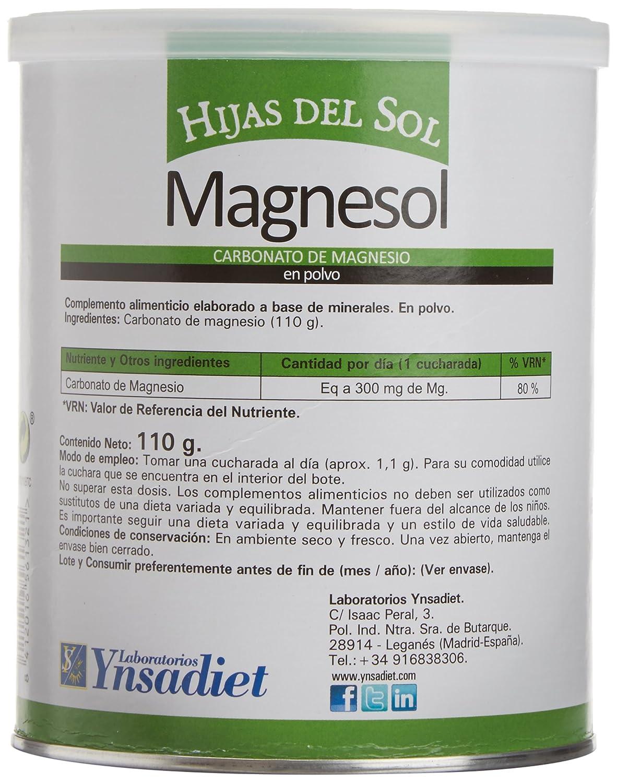 Ynsadiet Magnesol Carbonato de Magnesio - 110 gr