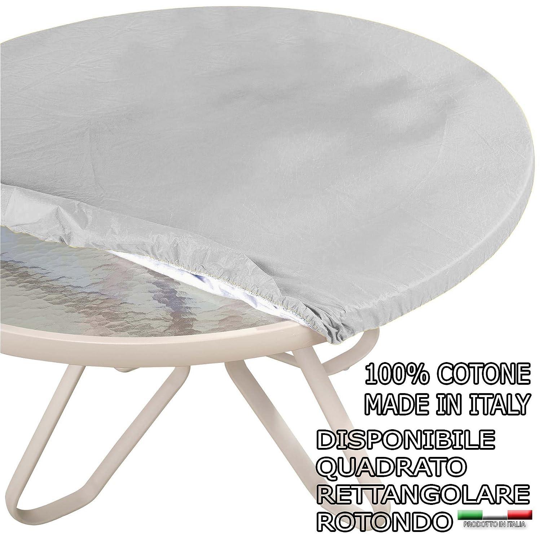 Hule con elástico redondo, 100% de algodón - Ideal para mesa ...