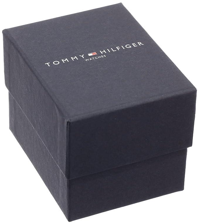 ea4be907 Amazon.com: Tommy Hilfiger Men's 1791012 Analog Display Quartz Silver  Watch: Tommy Hilfiger: Watches
