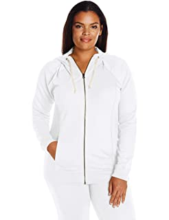 0d49cf3666a Champion Women s Plus-Size French Terry Full Zip Jacket at Amazon ...