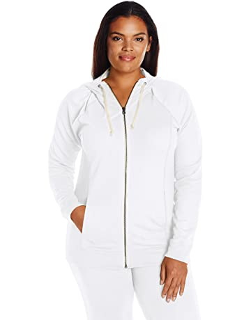 Champion Womens Plus Size French Terry Full-Zip Jacket