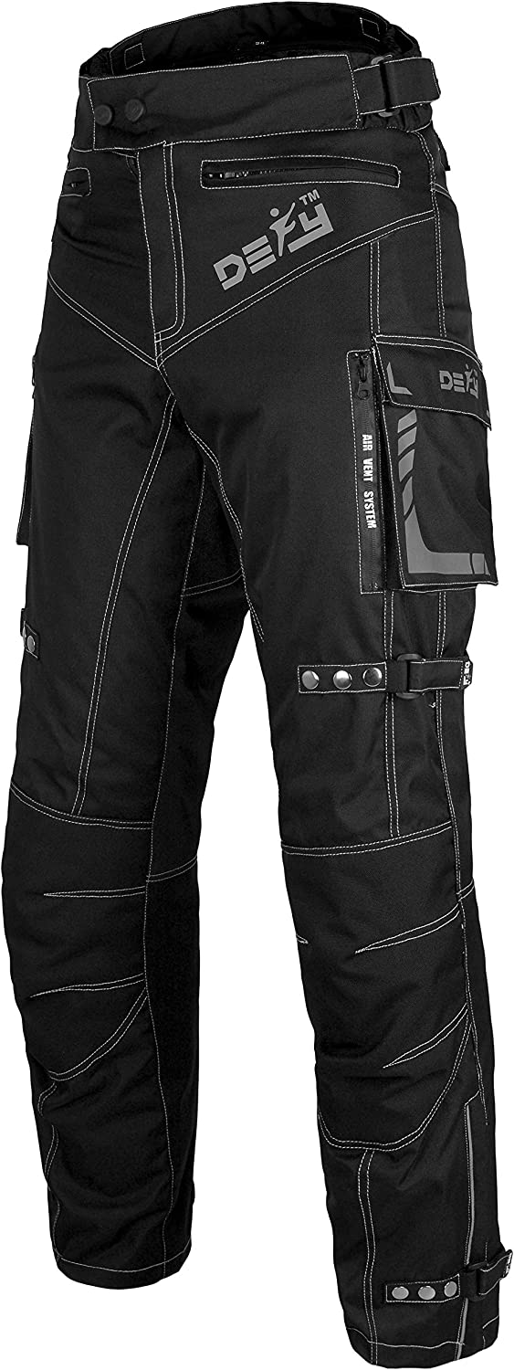 Waist 40- Inseam 32 Motorcycle Pants For Men Biker Dual sport Motorbike Pant Waterproof Windproof Riding Pants All-Weather with Removable CE Armored