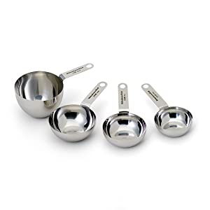 KitchenAid Gourmet Stainless Steel Measuring Spoons, Set of 4