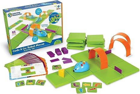Learning Resources- Code & Go Conjunto de Actividades del ratón Robot, Color (LER2831): Amazon.es: Juguetes y juegos