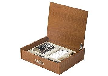 IDURGO, Baguette Ref. 19000, Cuberteria Acero Inoxidable, Estuche 24 Piezas: Amazon.es: Hogar
