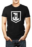 Mens Justice League official Logo T-shirt