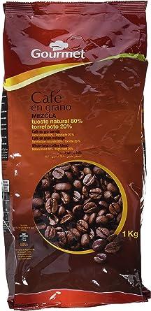 Gourmet - Café en grano - Mezcla 80/20 - 1 kg - [Pack de 2]: Amazon.es: Alimentación y bebidas