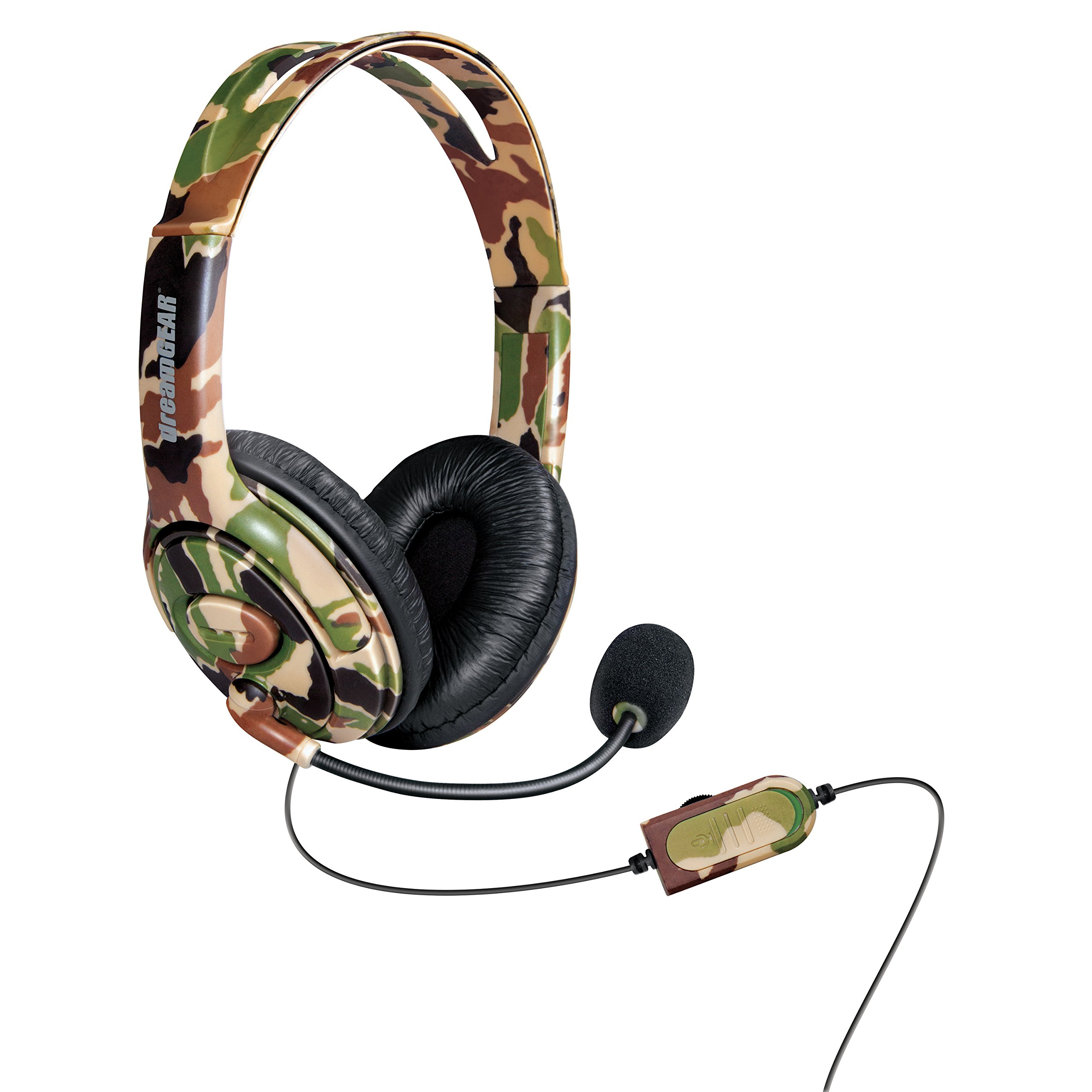 Auriculares Gamer : dreamGEAR X-Talk One Wired CAMO