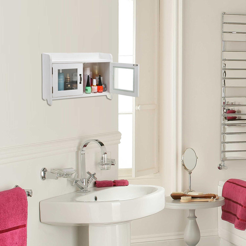 Decorative shabby chic white wood mini kitchen cupboard for Ok furniture kitchen units