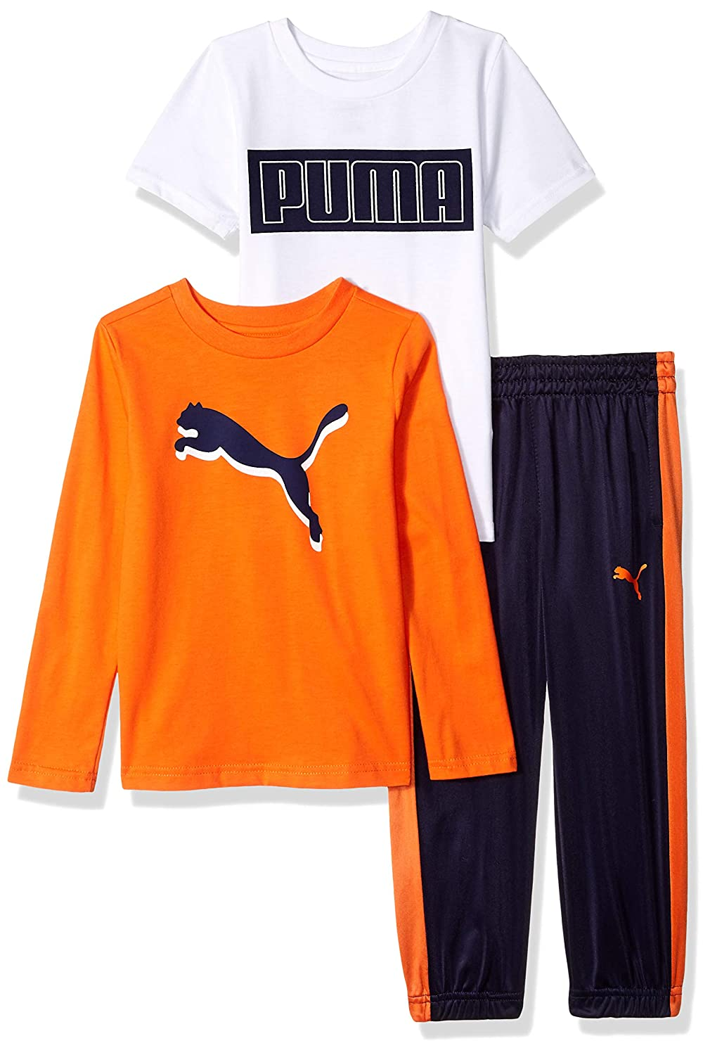 PUMA Little Boys' Tricot Pant Set