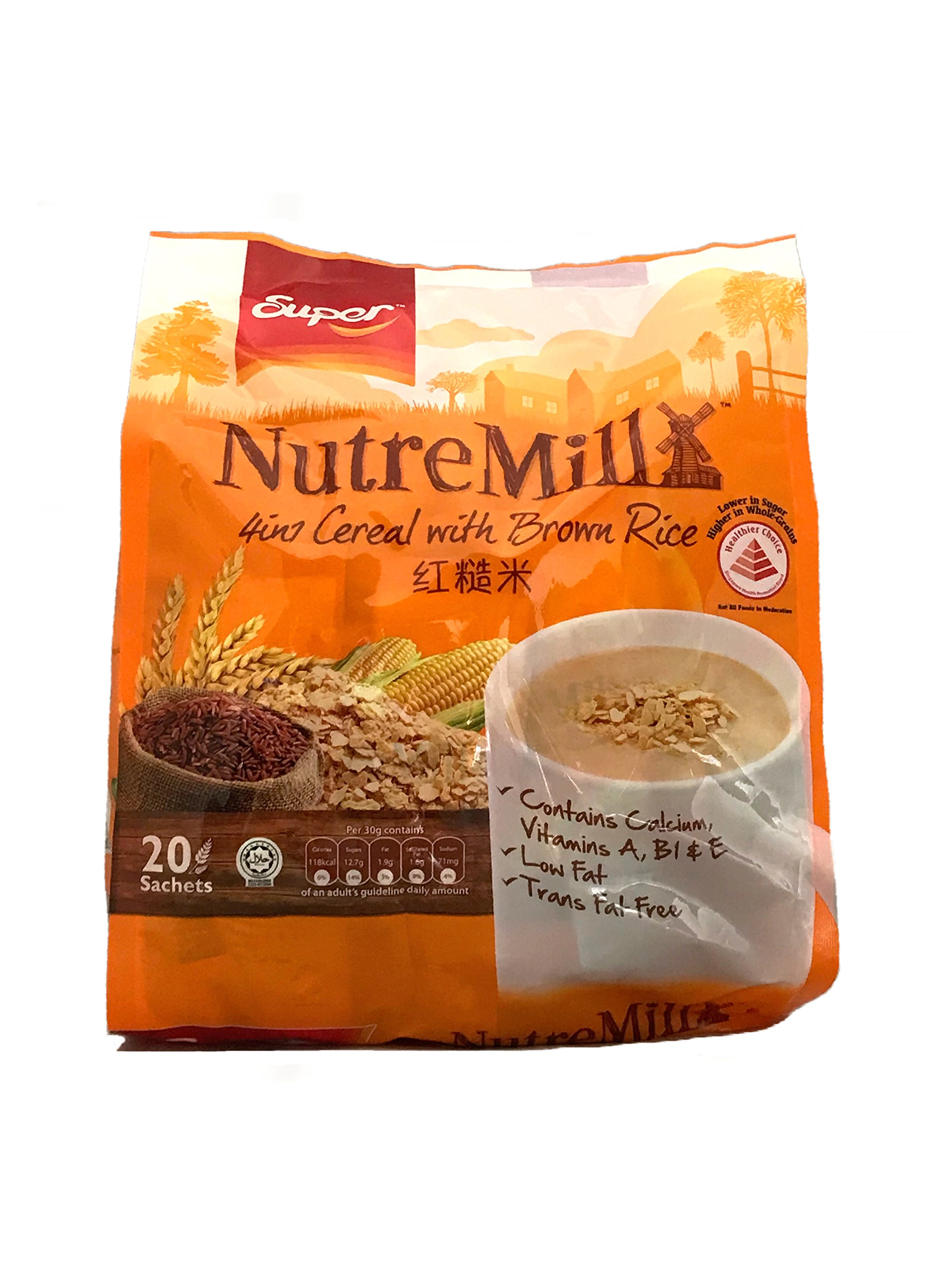 Super NutreMill 4 in 1 Cereal with Brown Rice by Super