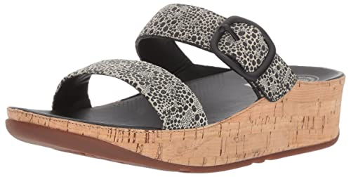 8b3c57ce5 fitflop Womens Stack Slide Slide Sandal  Amazon.ca  Shoes   Handbags