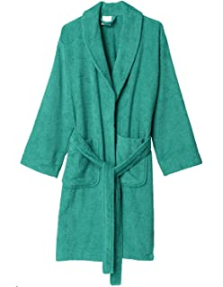 c056253908 Texere Women s Organic Cotton Terry Robe - Slim Fit Bathrobe for Her ...