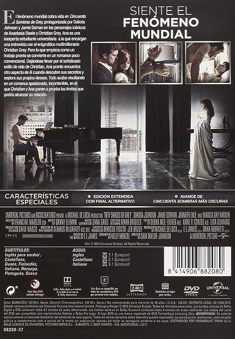Cincuenta Sombras De Grey [DVD]: Amazon.es: Jamie Dornan, Dakota ...