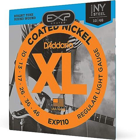 DAddario EXP110 - Juego de cuerdas para guitarra eléctrica de ...
