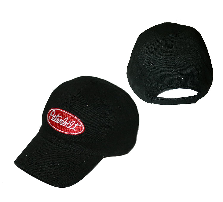 Amazon.com: Peterbilt Motors Unstructured Basic Black Cap: Sports & Outdoors