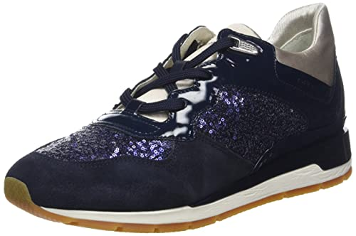 Geox D Shahira B, Zapatillas Para Mujer, Azul (Navy), 40 EU