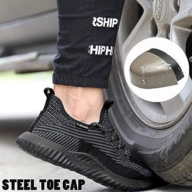 Ucayali Zapatos de Seguridad Hombre con Punta de Acero Ultraligero C/ómodas 39-48