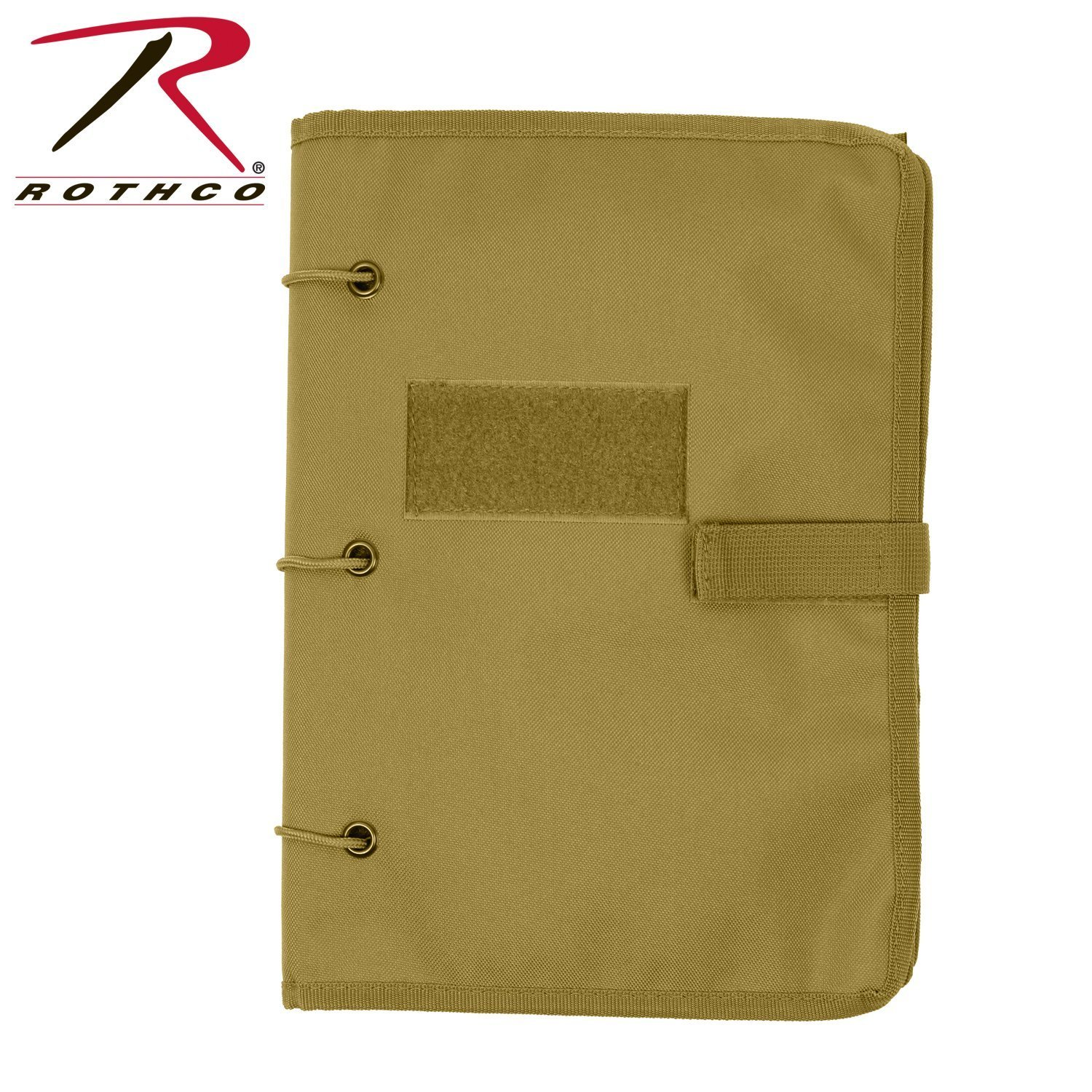 Rothco Hook & Loop Patch Book, Coyote by Rothco