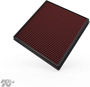 K/&N 33-2428 Replacement Panel Air Filter for BMW 535i//640i//740i//740iL//X6//X3
