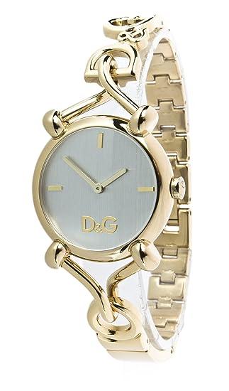 5b97853c3fbd D G Dolce Gabbana DW0682 - Reloj analógico de mujer de cuarzo con correa de  acero inoxidable dorada  Amazon.es  Relojes
