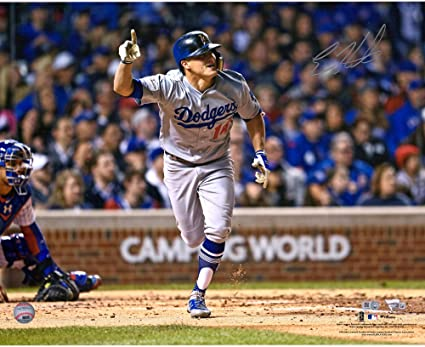 Fanatics Authentic Certified Will Smith Los Angeles Dodgers Autographed 16 x 20 Hitting Photograph