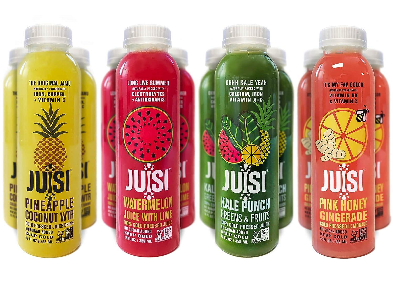 Cold Pressed Juice >> Amazon Com Juisi Cold Pressed Juice 12 Fluid Ounce Pack Of 12