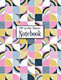 2019 Weekly Planner Notebook: Quilt Squares Organizer Calendar January - December 2019