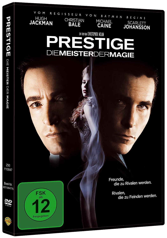 Prestige Die Meister Der Magie Amazon Co Uk Dvd Blu Ray