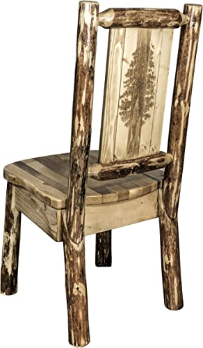 Montana Wooodworks Glacier Country Collection Side Dining Chair