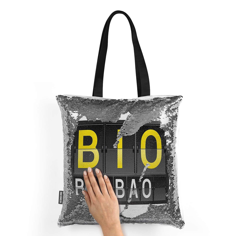 Amazon.com: NEONBLOND Mermaid Tote Handbag BIO Airport Code ...