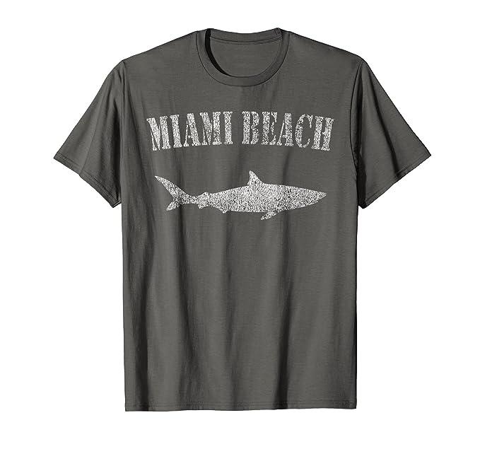 ec755cc5b Vintage Miami Beach Florida East Coast Logo Cool TShirt MEN39S