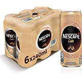 Nescafe Ready To Drink Latte Chilled Coffee Can 240ml (6 Cans) – Promo Pack