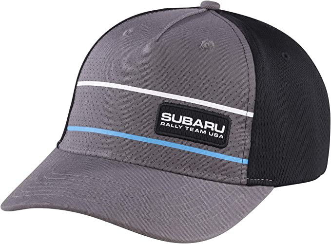 Small Subaru Motorsports USA New Era Stretch Heathered Cap Hat WRX Sti Rally New Genuine