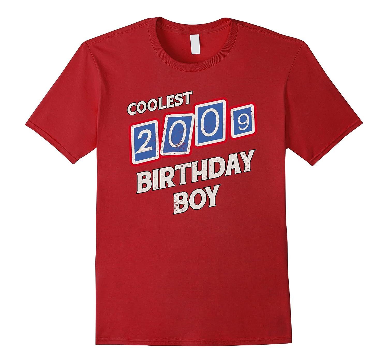 2009 8th Birthday Gift 8 Years Old Boy Bday T Shirt