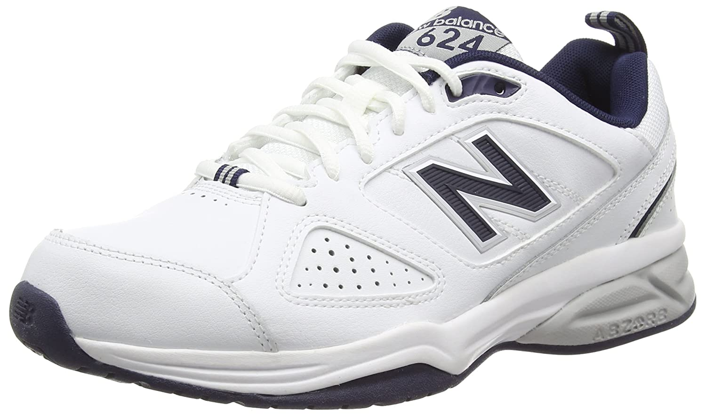 TALLA 42 EU. New Balance 624, Zapatillas Deportivas para Interior para Hombre