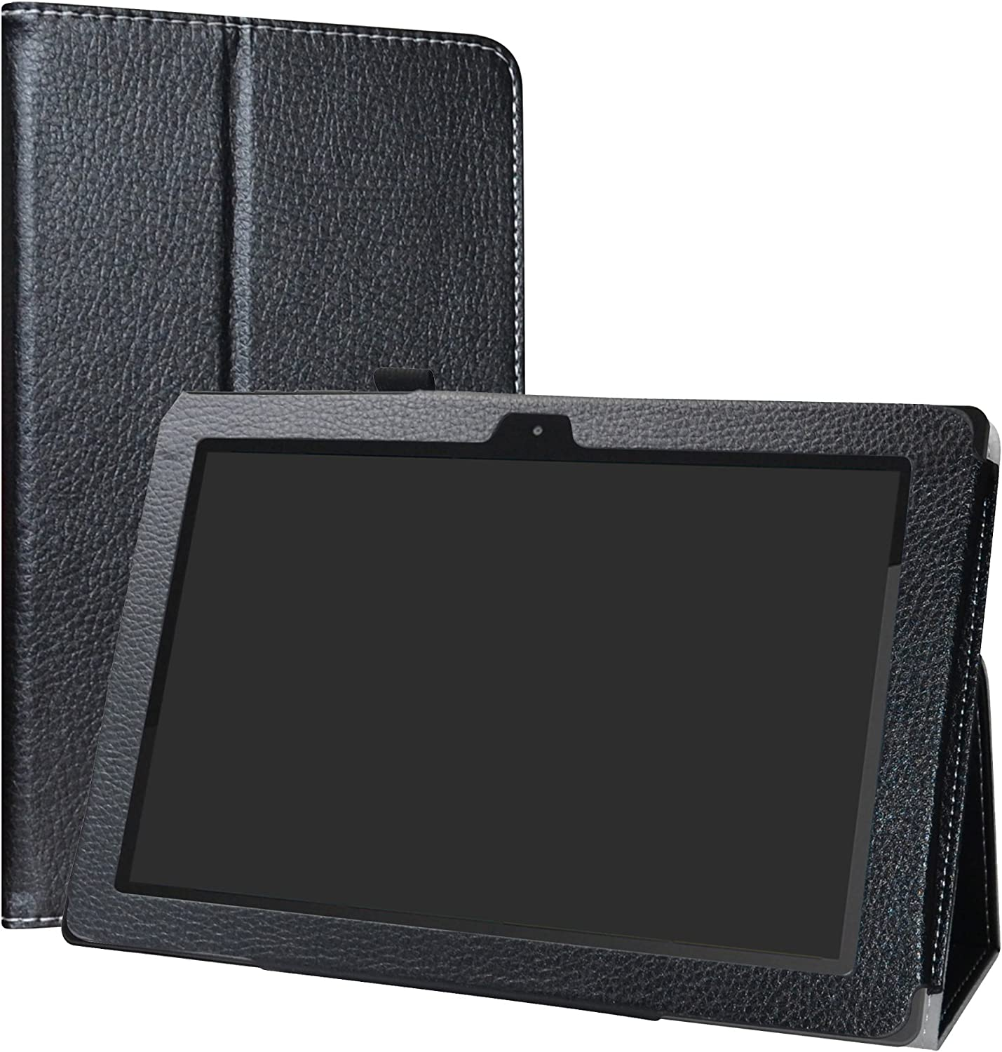 Astro Tab A10 Case,LiuShan PU Leather Slim Folding Stand Cover for Astro Tab A10 – 10 inch Android Tablet,Black