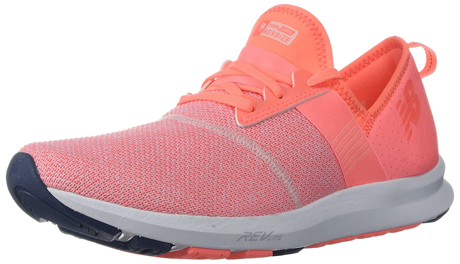 New Balance Women's FuelCore Nergize V1 Fuel Core Cross Trainer B06XS3M83Z 85 D US|Fiji/White