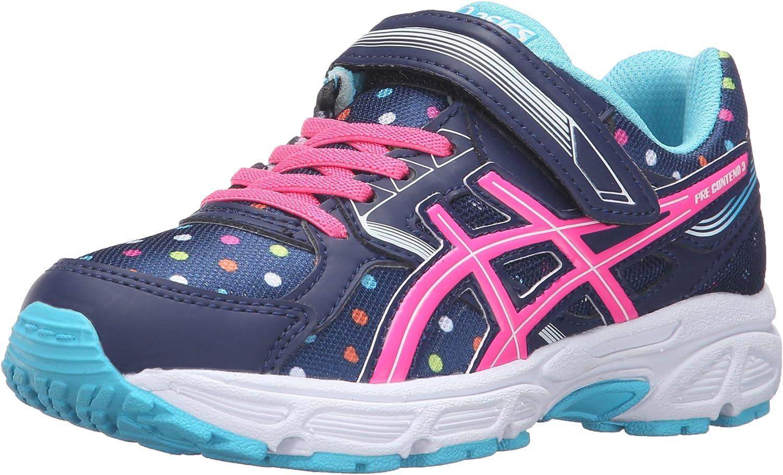 Buy ASICS Girls' Pre-Contend 3 PS Running Shoe Indigo Blue/Pink ...