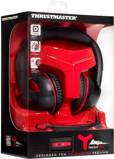 ThrustMaster - Auriculares Y-250C con Micrófono: Amazon.es ...