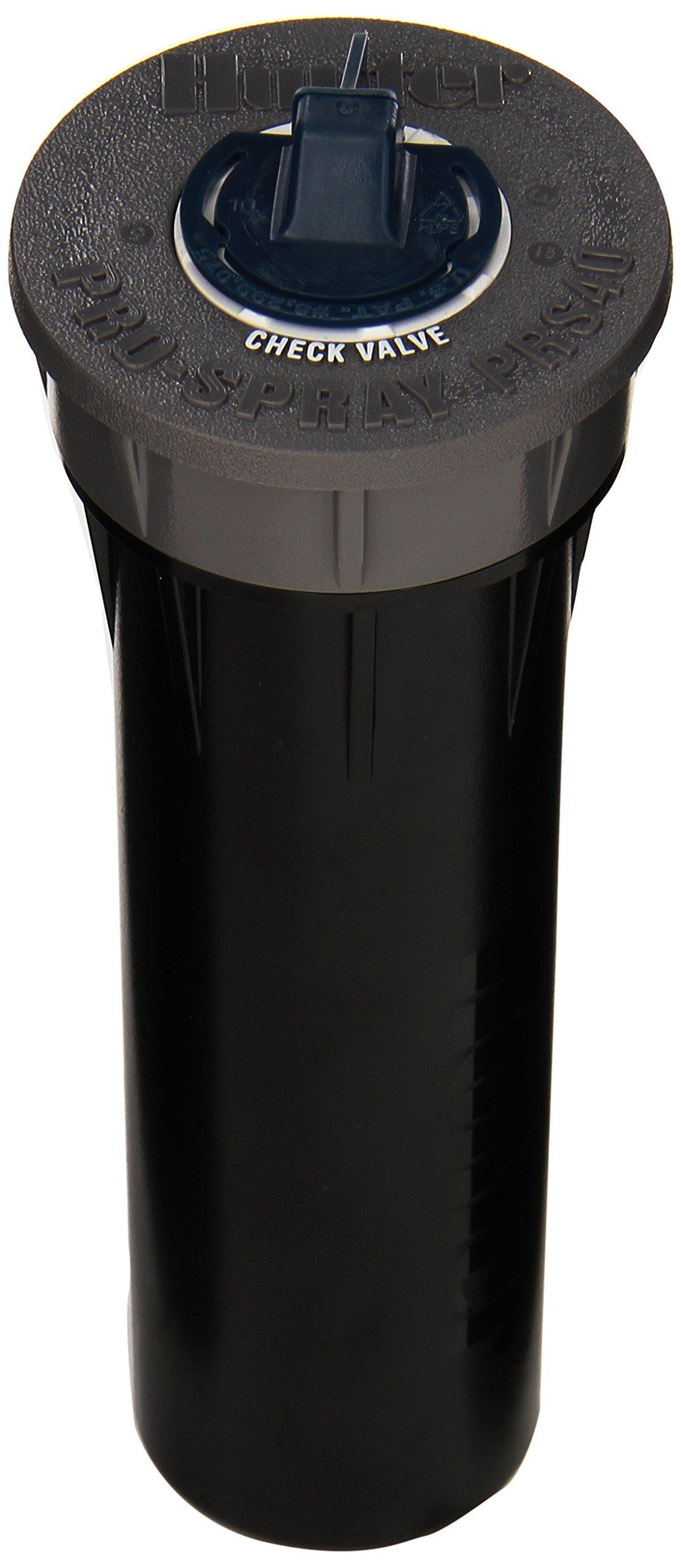 Hunter Sprinkler PROS04PRS40CV Pro-Spray 4-Inch Pop-Up Sprinkler Regulated at 40 PSI with Drain Check Valve
