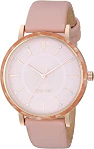 Nine West - Reloj de pulsera para mujer con cristales