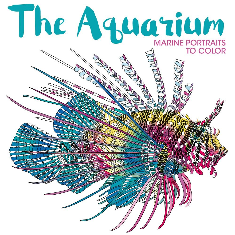 Download The Aquarium: Marine Portraits to Color PDF